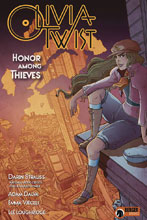 Image: Olivia Twist: Honor Among Thieves HC  - Dark Horse Comics
