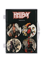 Image: Hellboy Magnets  (4) - Dark Horse Comics