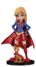 Image: DC Artists Alley PVC Figure: Supergirl by Chrissie Zullo  - DC Comics