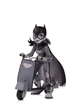Image: DC Artists Alley PVC Figure: Batgirl by Zullo  (B&W) - DC Comics