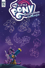 Image: My Little Pony: Friendship Is Magic #75 (incentive cover - Mebberson) (10-copy) - IDW Publishing