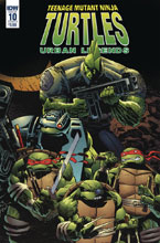 Image: Teenage Mutant Ninja Turtles: Urban Legends #10 (cover B - Fosco & Larsen) - IDW Publishing