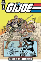 Image: G.I. Joe: Sierra Muerte #1 (cover B - Fiffe) - IDW Publishing