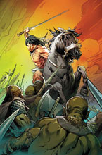 Image: Conan the Barbarian #3 (incentive cover - Land) - Marvel Comics