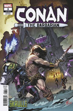Image: Conan the Barbarian #3 (variant Skrulls cover - Pepe Larraz) - Marvel Comics