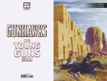 Image: Gunhawks #1 (variant Young Guns cover - Kuder)  [2019] - Marvel Comics