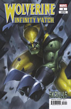 Image: Wolverine: Infinity Watch #1 (variant Skrulls cover - Jee Hyung Lee) - Marvel Comics