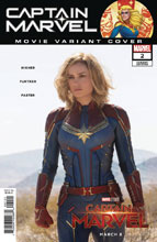 Image: Captain Marvel #2 (variant cover - Movie) - Marvel Comics