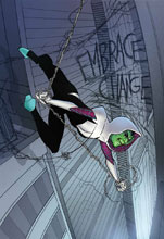 Image: Spider-Gwen: Ghost-Spider #5 (variant Skrulls cover - Ferry) - Marvel Comics