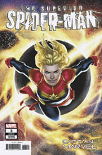 Image: Superior Spider-Man #3 (variant Captain Marvel cover - Saiz) - Marvel Comics