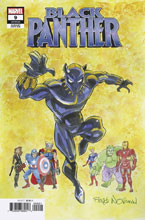 Image: Black Panther #9 (variant cover - Norman) - Marvel Comics