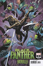 Image: Black Panther #9 (variant Skrulls cover - Ryan Benjamin) - Marvel Comics