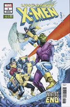 Image: Uncanny X-Men: Winter's End #1 (variant Skrulls cover - Tom Raney) - Marvel Comics