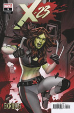 Image: X-23 #9 (variant Skrulls cover - Lupacchino) - Marvel Comics