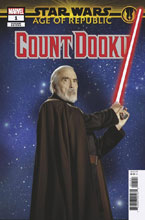 Image: Star Wars: Age of Republic - Count Dooku #1 (variant Movie cover) - Marvel Comics
