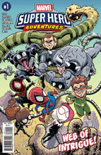 Image: MSH Adventures: Spider-Man - Web of Intrigue #1 - Marvel Comics