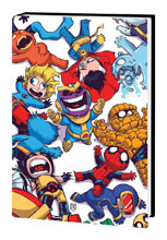 Image: Marvel Art of Skottie Young HC  - Marvel Comics