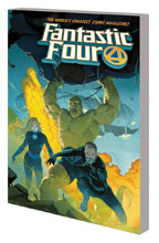 Image: Fantastic Four Vol. 01: Fourever SC  - Marvel Comics