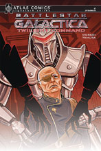 Image: Battlestar Galactica: Twilight Command #1 (signed - Atlas edition) - Dynamite