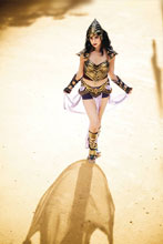 Image: Barbarella / Dejah Thoris #2 (variant cover - Barbarella Virgin Cosplay) - Dynamite