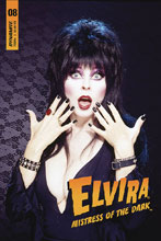Image: Elvira: Mistress of the Dark #8 (cover D - Photo) - Dynamite