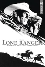 Image: Lone Ranger  #5 (incentive cover - Cassaday B&W) (10-copy) - Dynamite