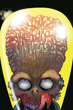Image: Mars Attacks #5 (incentive cover - Marques Virgin) (10-copy) - Dynamite