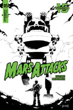 Image: Mars Attacks #5 (incentive cover - Coleman B&W) (20-copy) - Dynamite