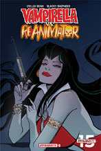 Image: Vampirella vs. Reanimator #3 (incentive cover - Virella Seduction) (10-copy) - Dynamite