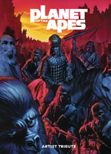 Image: Planet of the Apes Artist Tribute HC  - Boom! Studios