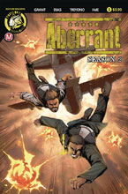 Image: Aberrant Season 2 #1 (cover A - Leon Dias) - Action Lab - Danger Zone