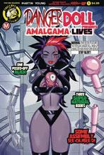 Image: Danger Doll Squad Presents: Amalgama Lives #1 (cover A - Young) - Action Lab - Danger Zone
