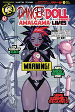 Image: Danger Doll Squad Presents: Amalgama Lives #1 (cover B - Young Risque) - Action Lab - Danger Zone