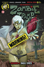 Image: Zombie Tramp #57 (cover B - Tmchu Risque) - Action Lab - Danger Zone
