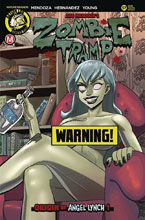 Image: Zombie Tramp #57 (cover F - Young Risque B) - Action Lab - Danger Zone