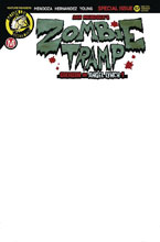 Image: Zombie Tramp #57 (cover G - Blank Sketch) - Action Lab - Danger Zone