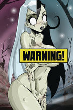 Image: Zombie Tramp #57 (cover K - Mendoza Lenticular Virgin Risque) - Action Lab - Danger Zone