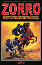 Image: Zorro: Legendary Adventures Book 2 #1 (variant cover - Blazing Blades) - American Mythology Productions