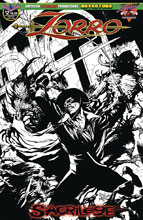 Image: Zorro: Sacrilege #2 (variant cover - limited) - American Mythology Productions