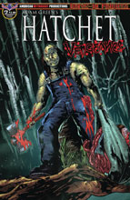 Image: Hatchet: Vengeance #3 (variant cover - Mandir Swamp Kill) - American Mythology Productions