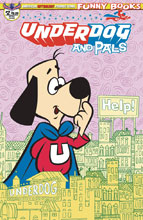 Image: Underdog & Pals #2 (variant cover - Retro Animation) - American Mythology Productions