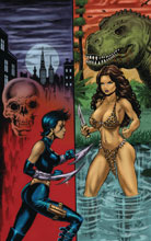 Image: Cavewoman: Razor's Run #1 (cover E - Parsons) - Amryl Entertainment