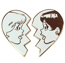 Image: B&V Best Friends Pin Set  - Archie Comic Publications