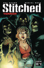 Image: Stitched Terror #2 (variant cover - Lurking) - Avatar Press Inc