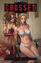 Image: Crossed Badlands #33 (variant cover - Blazing Hot A) - Avatar Press Inc