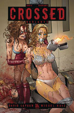 Image: Crossed Badlands #33 (variant cover - Blazing Hot C ) - Avatar Press Inc