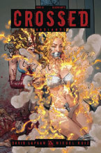 Image: Crossed Badlands #33 (variant cover - Blazing Hot D ) - Avatar Press Inc