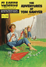Image: Classics Illustrated: Adventures Tom Sawyer SC  - Classics Illustrated