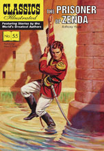 Image: Classics Illustrated: Prisoner of Zenda SC  - Classics Illustrated