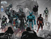 Image: Dark Nights Metal #5 (DFE variant cover - Comicon virgin wraparound) - Dynamic Forces